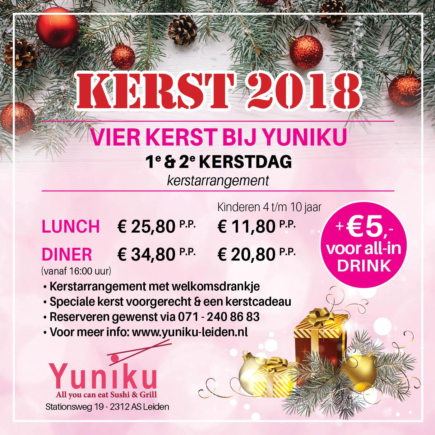 Kerst Yuniku Leiden